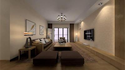 世茂铂翠湾 / 其他风格风格 / 110平米装修案例