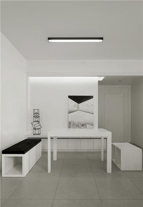 通用时代国际社区 / 现代简约风格 / 134平米
