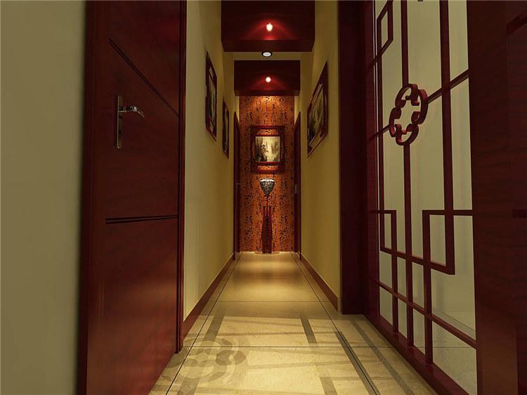恒基凯旋门 / 新中式风格 / 313平米