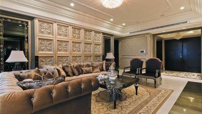 富厚名邸 / 欧式古典风格 / 164平米