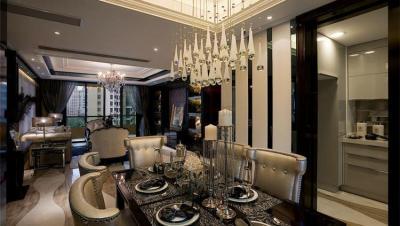 金色世纪 / 欧式古典风格 / 120平米装修案例