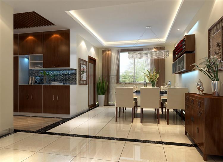 香博堡国际 / 新中式风格 / 106平米