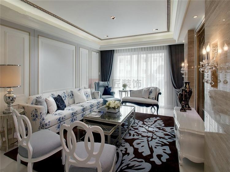 宜华·湘江观邸 / 简欧风格 / 132平米