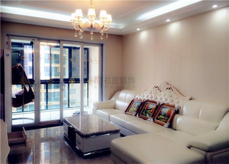 大汉新城 / 欧式风格 / 126平米