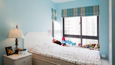 明星央城 / 美式风格 / 140平米装修案例