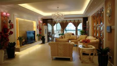 海盟潇湘豪庭 / 其他风格风格 / 131平米装修案例