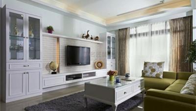 湾田家园 / 美式风格 / 144平米装修案例