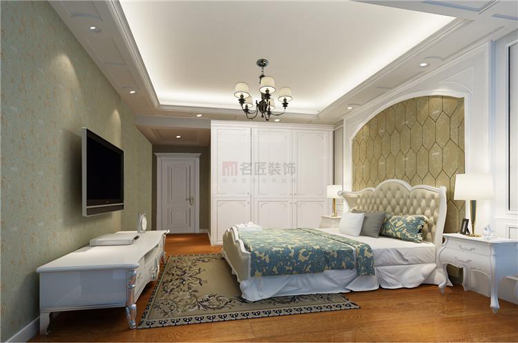 大汉新城 / 欧式古典风格 / 140平米