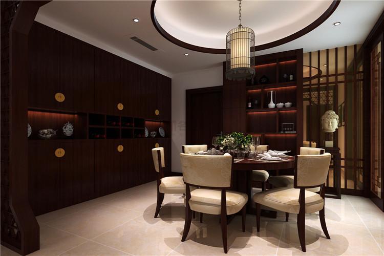 金地明珠 / 新中式风格 / 118平米