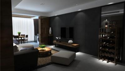 大汉新城 / 现代简约风格 / 140平米装修案例