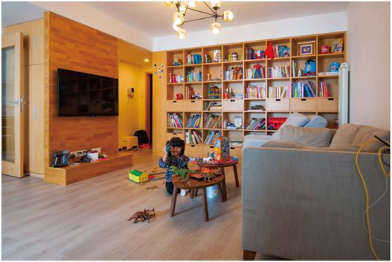 永州名匠装饰14万装出一个幸福的三口之家