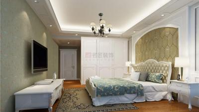 大汉新城 / 欧式古典风格 / 140平米装修案例