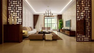 永和家园 / 新中式风格 / 121平米装修案例