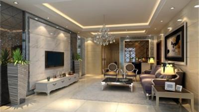 海盟潇湘豪庭 / 欧式风格 / 120平米装修案例