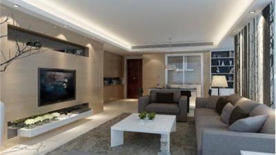 永和家园 / 现代简约风格 / 121平米装修案例