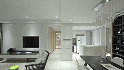 海盟潇湘豪庭 / 现代简约风格 / 120平米装修案例