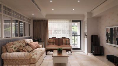 华盛世纪星城 / 田园风格 / 142平米装修案例