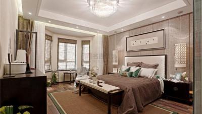银泰红城 / 新中式风格 / 134平米装修案例