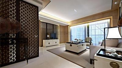 大汉龙城 / 新中式风格 / 100平米装修案例