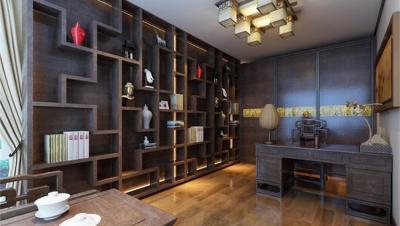 龙泉名邸 / 新中式风格 / 123平米装修案例