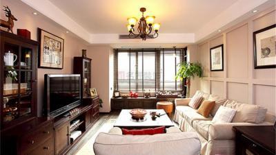 华盛世纪星城 / 新中式风格 / 142平米装修案例