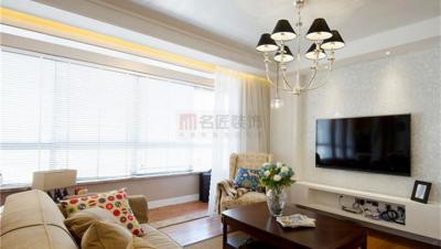 龙泉名邸 / 美式风格 / 117平米装修案例