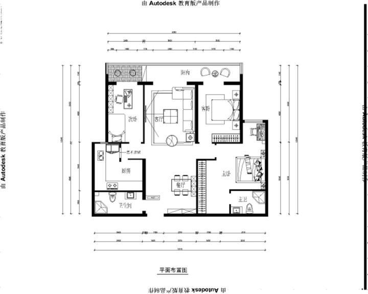 书香美域 / 欧式风格 / 136平米