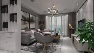 中央新城 / 现代简约风格 / 135平米装修案例