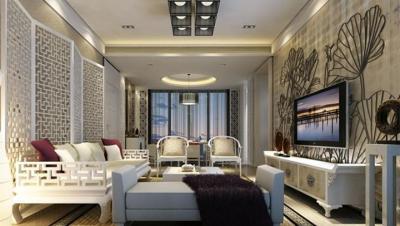 欣隆盛世 / 新中式风格 / 140平米装修案例