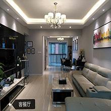 中央华府 / 现代简约风格 / 143平米装修案例