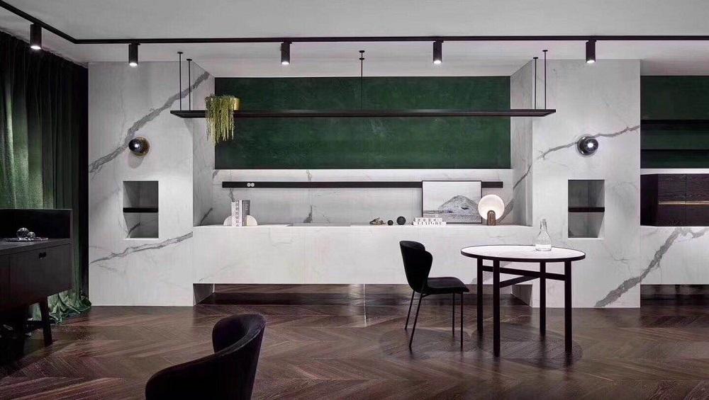 保利国际 / 现代简约风格 / 160平米装修案例