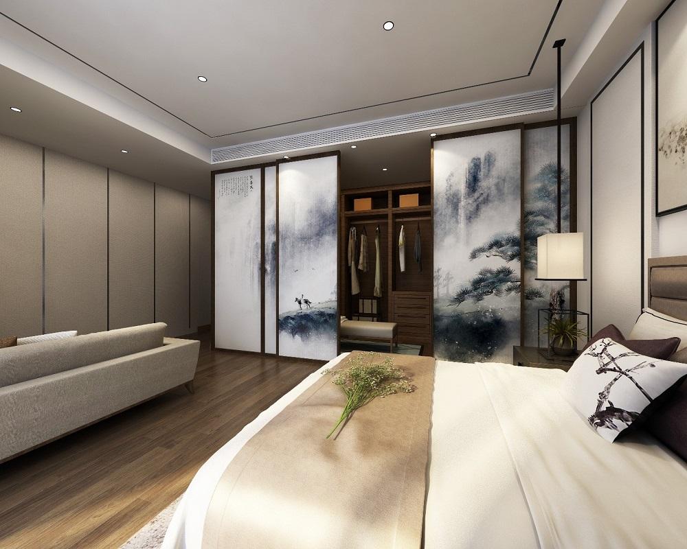 御溪谷 / 新中式风格 / 150平米