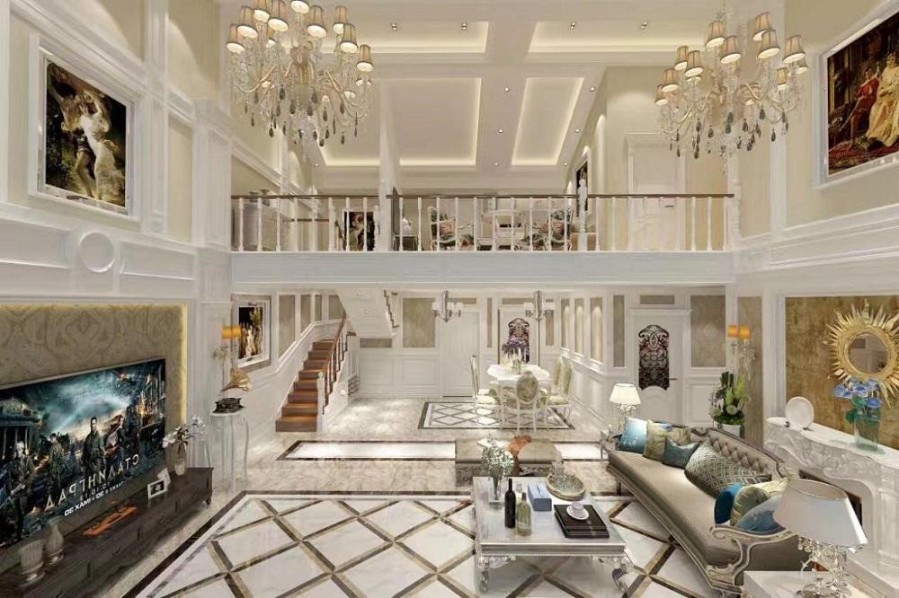 自建别墅 / 现代简约风格 / 460平米装修案例