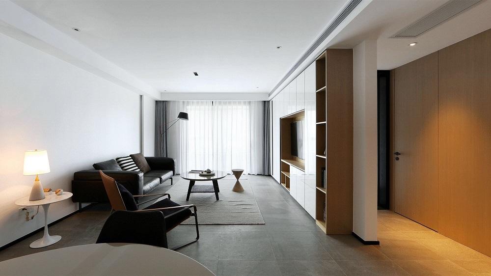 万达湖公馆 / 现代简约风格 / 127平米装修案例