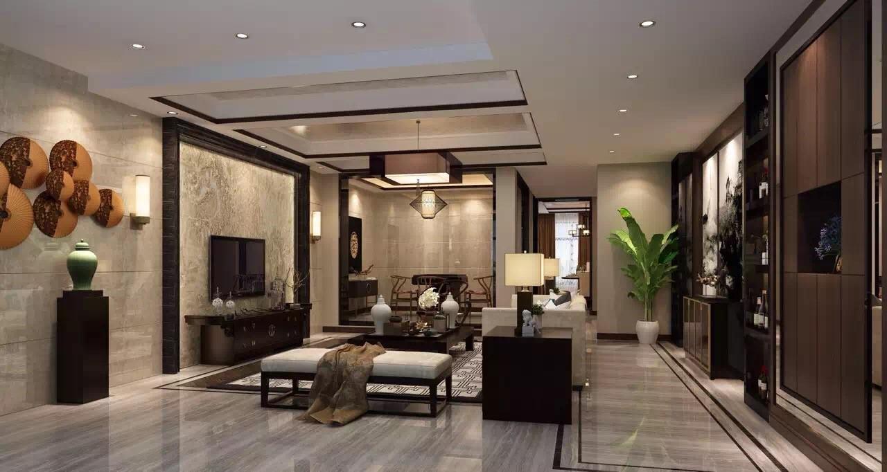 半山丽墅 / 新中式风格 / 280平米装修案例