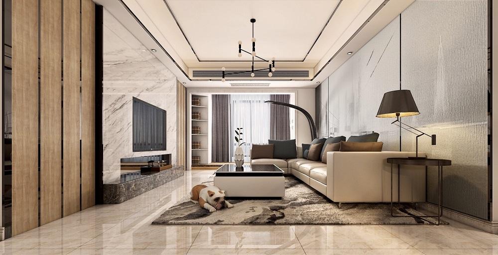 君华御庭 / 现代简约风格 / 150平米装修案例