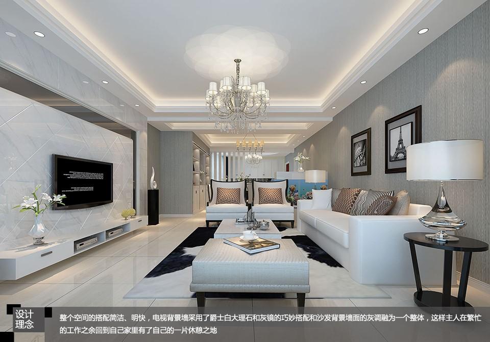柳荷鑫苑 / 现代简约风格 / 175平米装修案例
