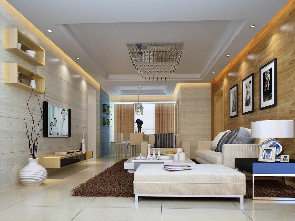 中国铁建国际城 / 现代简约风格 / 84平米装修案例