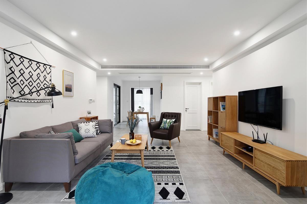 单位房 / 简欧风格 / 128平米装修案例