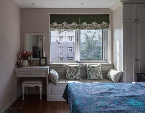106平米美式风格的房子,美观又储物!