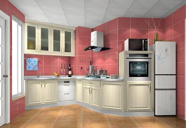 橱柜装修效果图赏析,一型、U型、L型你家适合哪一款?