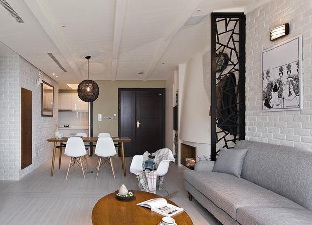 餐厅与客厅一体式设计,这样布局更合理图片