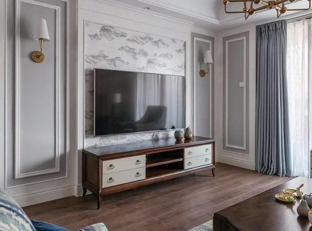 现在电视背景墙装修,大家都装饰用石膏线来喜欢了懂装修家装