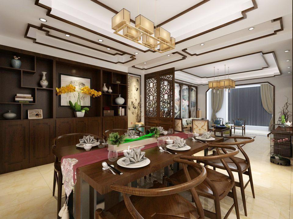 大汉龙城 / 新中式风格 / 125平米