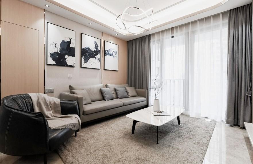 众一桂府 / 现代简约风格 / 137平米装修案例