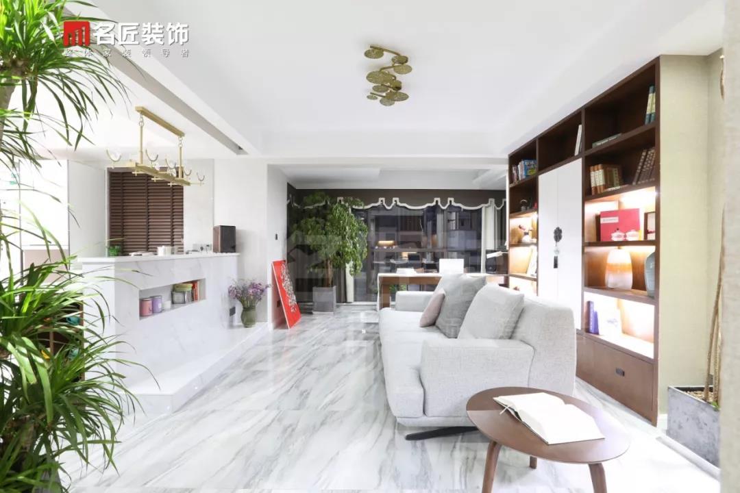 名匠雅居  140㎡新中式混搭,六大改造亮点让空间利用率翻一倍!