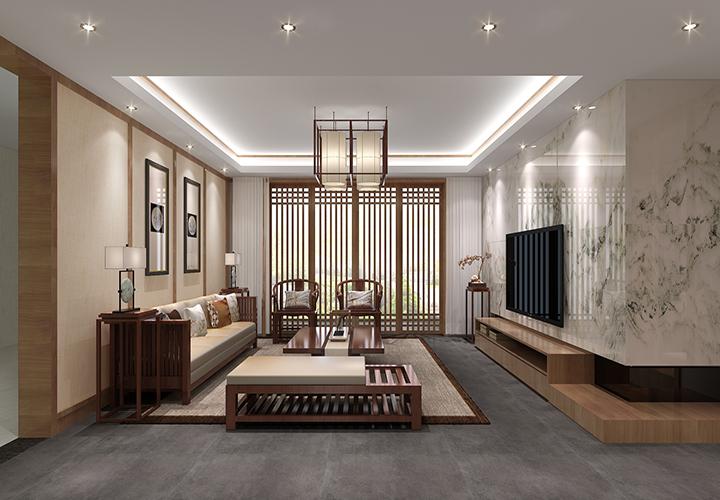 湘江世紀城 / 現代簡約風格 / 160平米裝修案例
