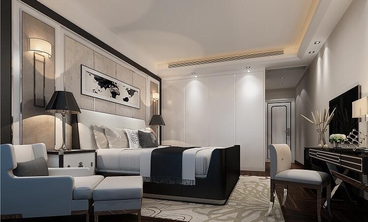 明昇壹城 / 欧式古典风格 / 180平米装修案例