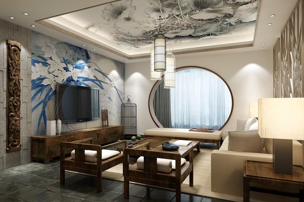 湘域熙岸 / 新中式風格 / 149平米裝修案例