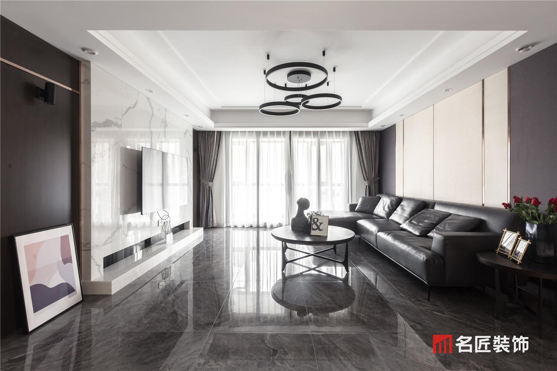 融科东南海 / 现代简约风格 / 168平米装修案例